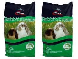 CHUDLEYS RABBIT ROYALE MUESLI FOOD 15kg x 2