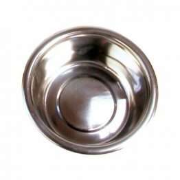 25cm stainless steel dog bowl