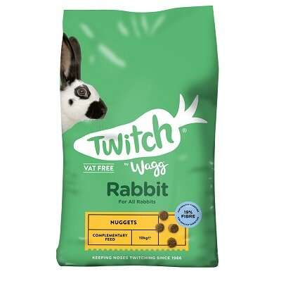 Twitch by Wagg Rabbit Nuggets 10kg. Rabbit Food