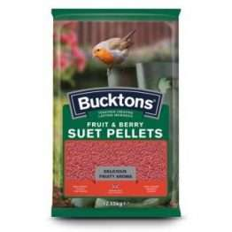 Bucktons Fruit & Berry Suet Pellets 12.55kg