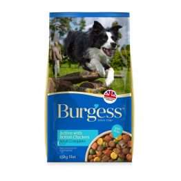 Burgess Active with Chicken and Beef 15kg
