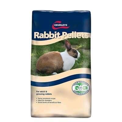 Chudleys Rabbit Pellets 20kg Rabbit Food