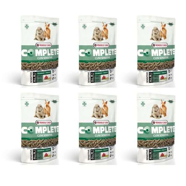 Versele Laga Complete Cuni Sensitive Rabbit Food 6 x 500g