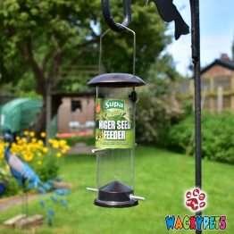 supa metal niger seed feeder