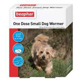 Beaphar One Dose Easy Wormer for SMALL Dogs