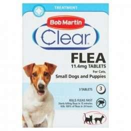 Bob Martin Clear Flea Tablets Small Dog, 3TABS