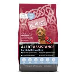 Burns Alert with Lamb & Brown Rice Dog Food 12kg