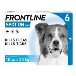 FRONTLINE Spot On Dog Medium - 6 pipettes