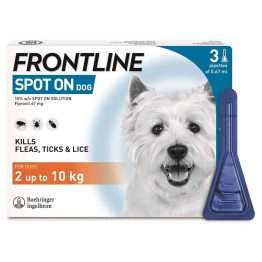 FRONTLINE Spot On Dog Small - 3 pipettes