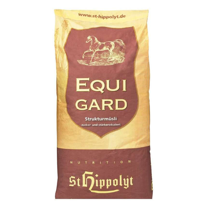 St Hippolyt Equigard Classic Muesli 20kg Horse Food / Feed with Free Delivery