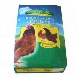 Verm-x chicken feed 5kg bag