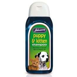 Johnsons puppy and kitten shampoo