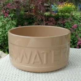 XL Ceramic Dog Bowl