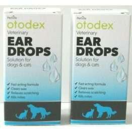 Otodex ear drops x 2