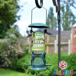 supa metal seed feeder x 2