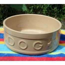 XL Ceramic dog bowl 25cm 10 inch mason cash