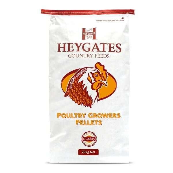 Heygates Poultry Grower Pellets 20kg