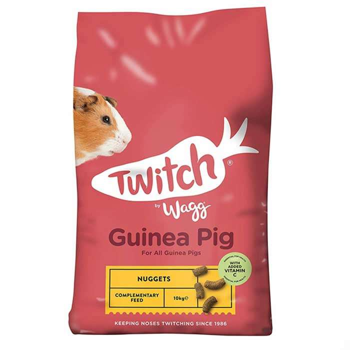 Twitch by Wagg Guinea Pig Nuggets / Food 10kg