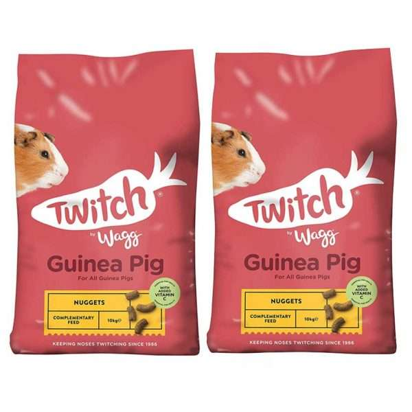 wagg guinea pig nuggets 10kg x 2