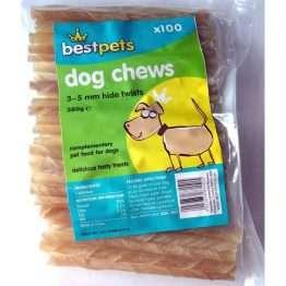 best pets rawhide twists x 100