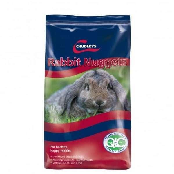 Chudleys Rabbit Nuggets 15kg