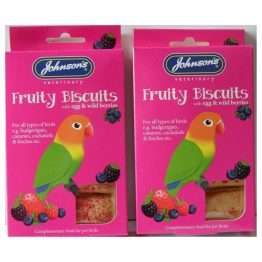 Fruity egg biscuits