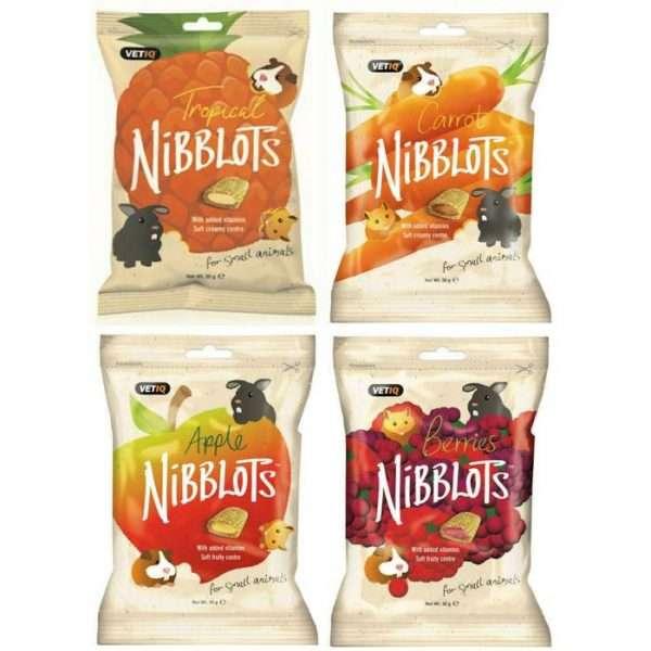 4 x nibblots small animal treats