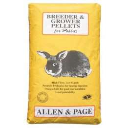 Allen & Page Rabbit Breeder & Grower Pellets 20kg