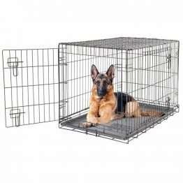Dogit 2 Door Black Dog Crate XL