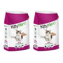Kitty Friend Pink Litter 30L x 2