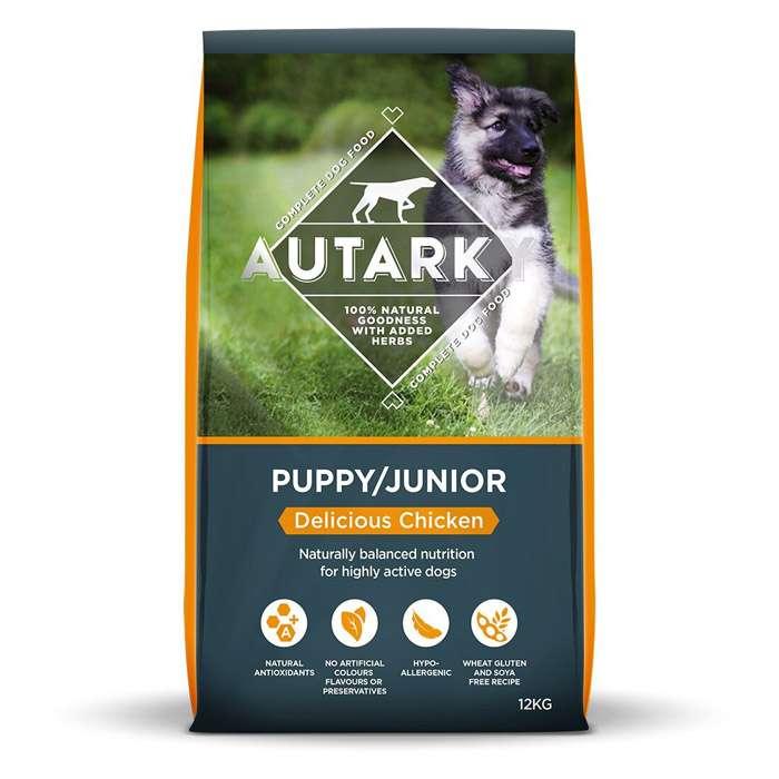 Autarky Chicken Junior Puppy Dog Food 12kg