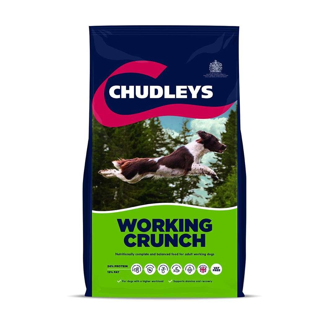 Chudleys Working Crunch 14kg Dog Food