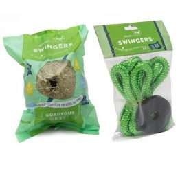 Silvermoor Swingers Gorgeous Grass Treat Ball & Rope