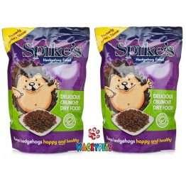 spikes crunchy dry hedgehog food 2.5kg x 2