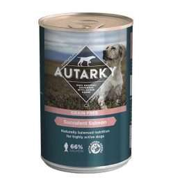 Autarky Grain Free Succulent Salmon with Veg Wet 12 x 395g
