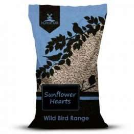 Husk free sunflowers, allowing the birds to feed more quickly with less mess. 100% bakery grade sunflower hearts.