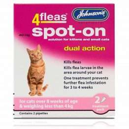 Johnson's 4fleas Spot On Kitten