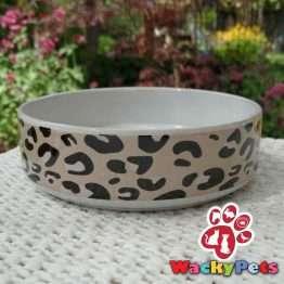 mason cash leopard print bowl 13cm