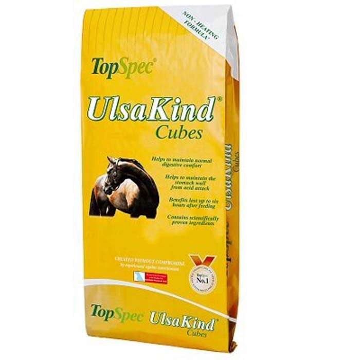 TopSpec UlsaKind Cubes 20kg Horse / Pony Feed
