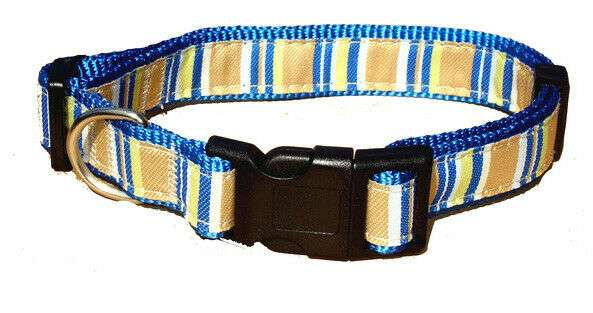 Nylon Adjustable Dog Collar with Cotton Pattern for Medium – Large Dogs. Special Offer Price