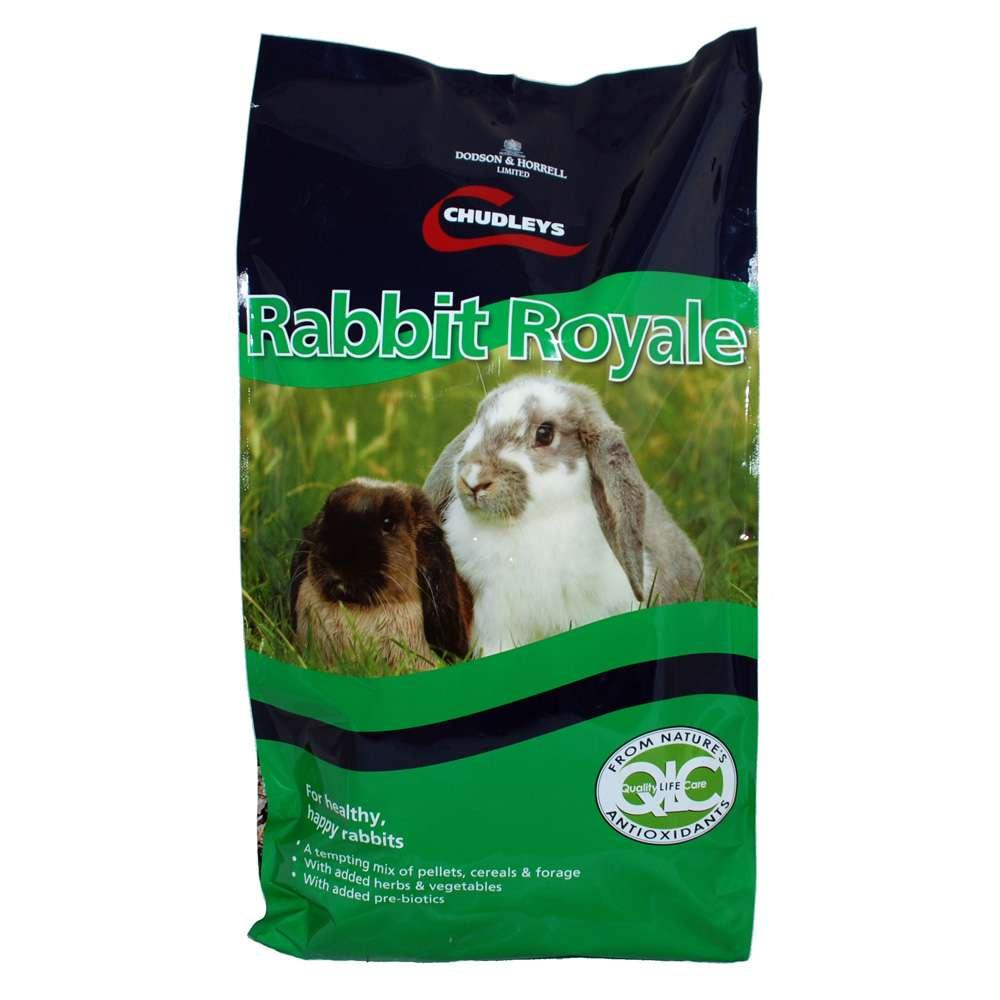 Chudleys Rabbit Royale Food 15kg Muesli Rabbit Feed